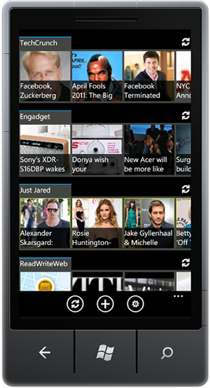 Windows Phone 7 RSS Reader