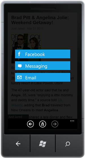 RSS Reader for Windows Phone 7